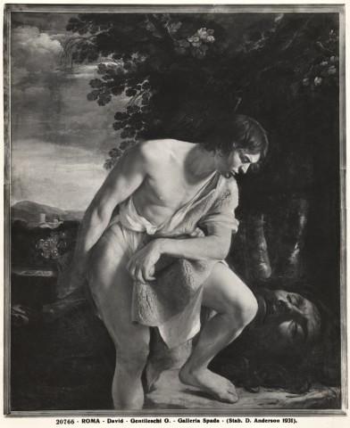 Anderson , Roma - David - Gentileschi O. - Galleria Spada - insieme