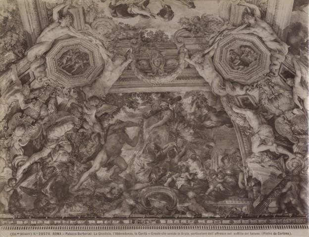 FONDAZIONE ZERI  CATALOGO : Berrettini Pietro, Trionfo della Divina Provvidenza