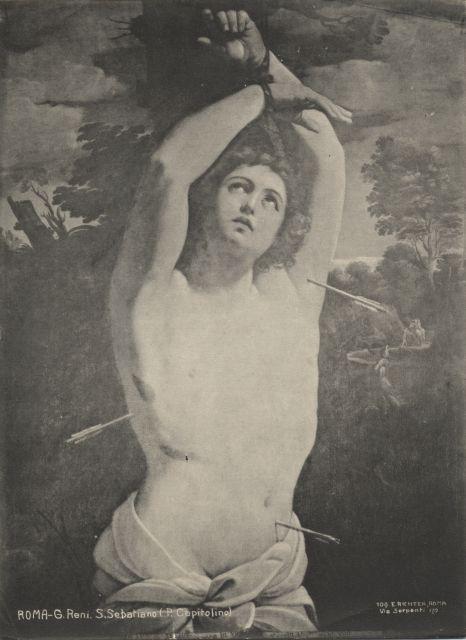 Anonimo , Roma - G. Reni. S. Sebastiano (P. Capitolina). - insieme