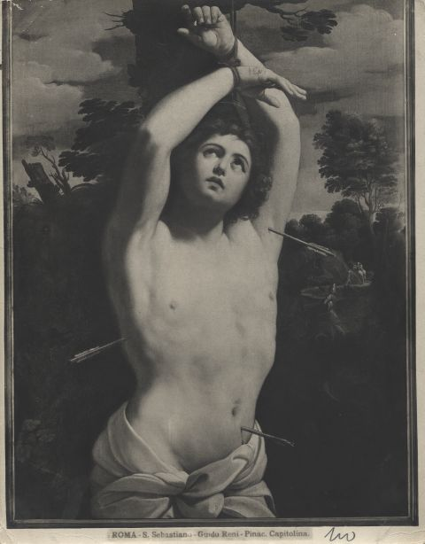 Istituto di Storia dell'Arte dell'Universit� di Napoli , Roma - S. Sebastiano - Guido Reni - Pinac. Capitolina - insieme