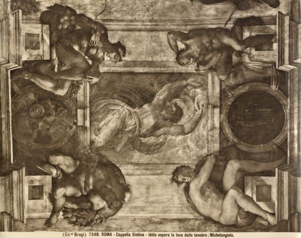 the significance of michelangelo s ignudi Michelangelo painted the creation on the sistine chapel ceiling, and the last judgement on the altar wall.