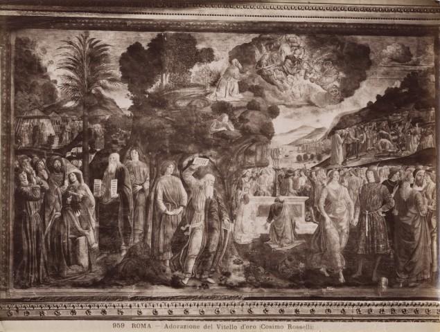Anderson roma adorazione del vitello d 39 oro cosimo - Le tavole della legge ...