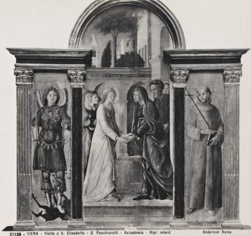 Fondazione zeri catalogo orioli pietro di francesco visitazione san michele arcangelo san - San michele mobili catalogo pdf ...
