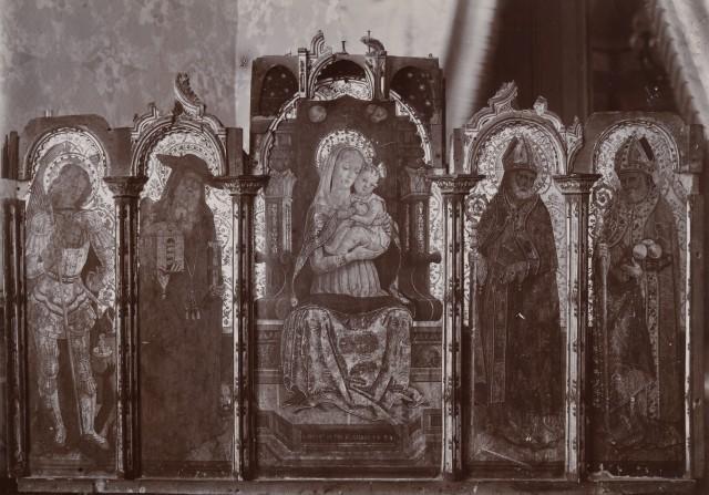 Fondazione zeri catalogo alemanno pietro madonna con bambino in trono san michele - San michele mobili catalogo pdf ...